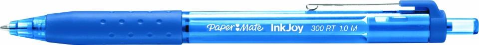 Paper Mate Inkjoy 300 Ballpoint Pen Retractable 1.0mm Blue