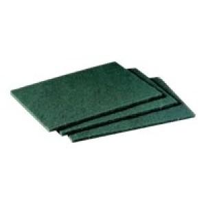 3M Scotch-Brite 96 Medium Duty Scouring Pad Green Pack of 10 XC000702818 Image