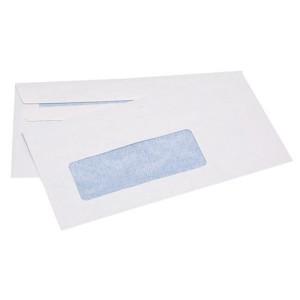 1111 9S Banker Window S/S Envelopes White Box 500 92X165mm