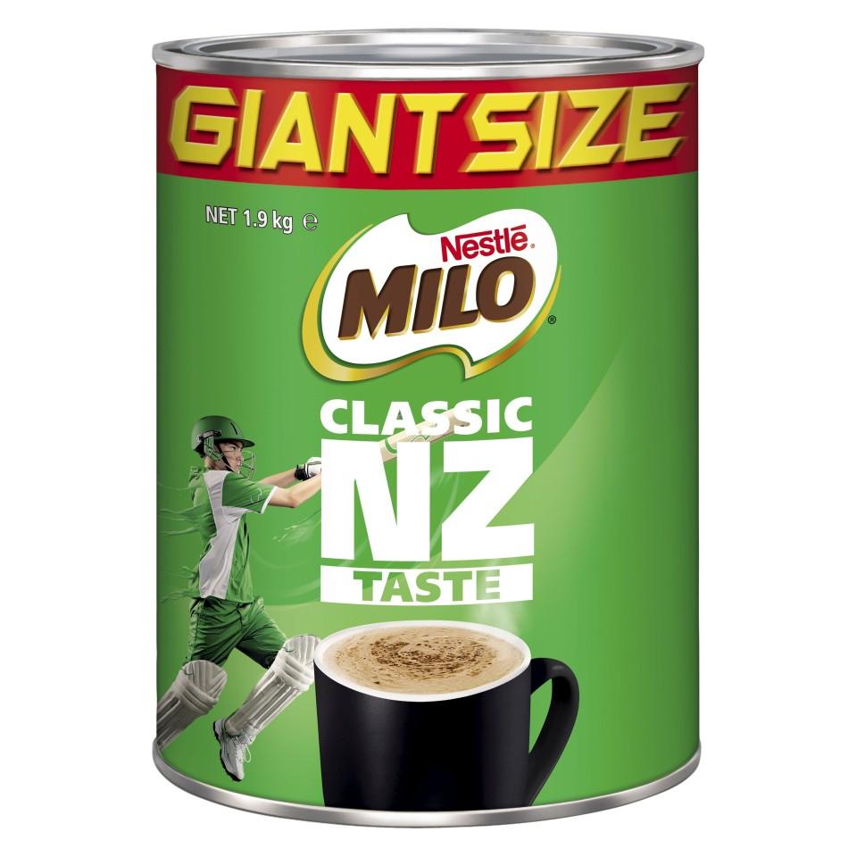 Nestle Milo Tin 1.9kg