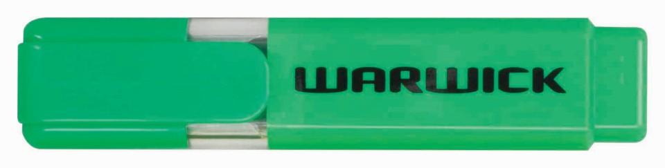 Warwick Highlighter Stubby Green