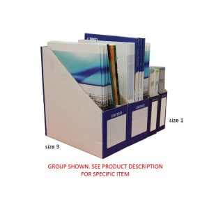 230X50X250mm Size 1 Foldaway Magazine File