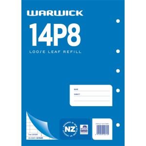 Warwick Refill 14P8 Loose Leaf Ledger 40 Leaf A4