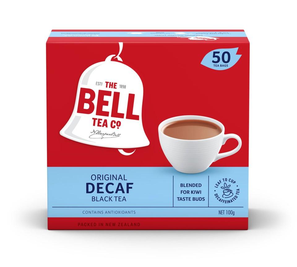 Bell Decaf Tagless Tea Bags Box 50