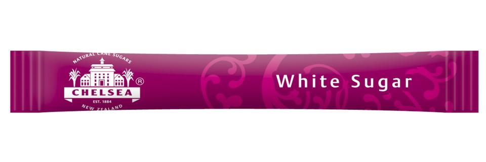 Chelsea White Sugar 3g Sticks Box 2000