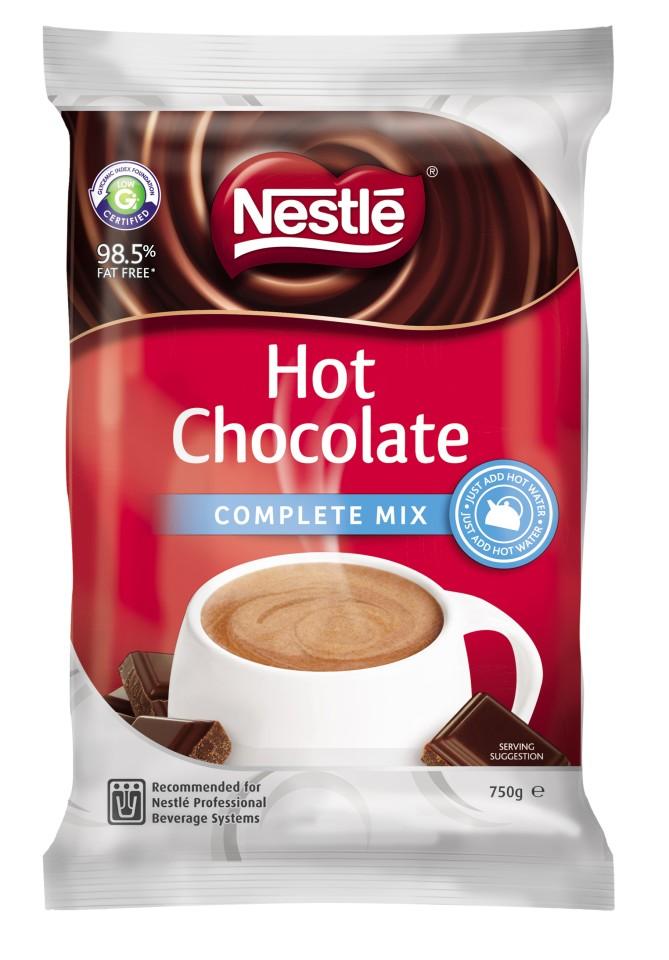 Nestle Vending Hot Chocolate 750g