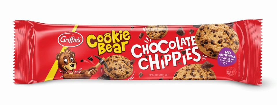 Griffins Chocolate Chippie Biscuits 200g