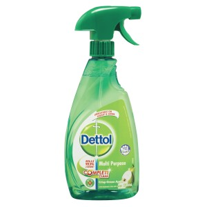 Dettol Antibacterial Multi Purpose Cleaner Crisp Green Apple Trigger 500ml
