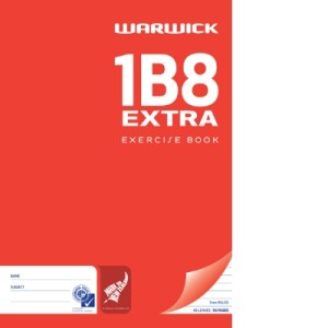 1B8 Extra A4 48Lf 7mm Ruled Exercise Book