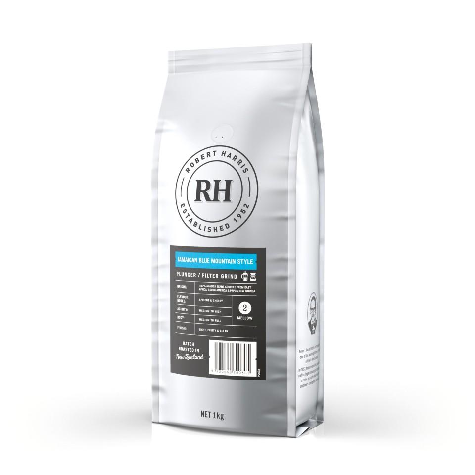 Robert Harris Jamaican Blue Mountain Style Plunger/Filter Coffee 1kg