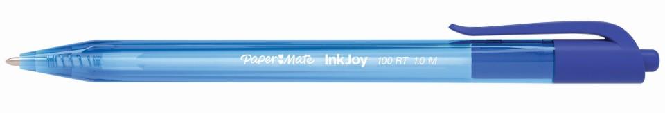 Paper Mate Inkjoy 100 Ballpoint Pen 1.0mm Blue Box 12