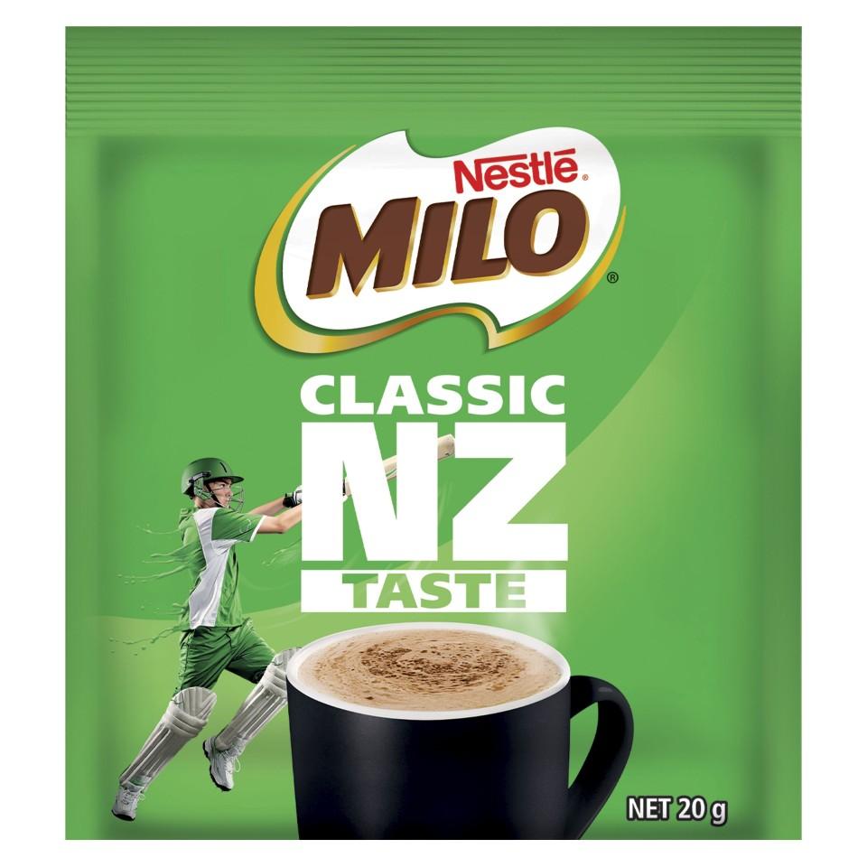 Nestle Milo Single Serve Sachets 20g Box 100