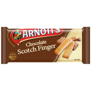 Arnotts Chocolate Scotch Fingers Biscuits 250g