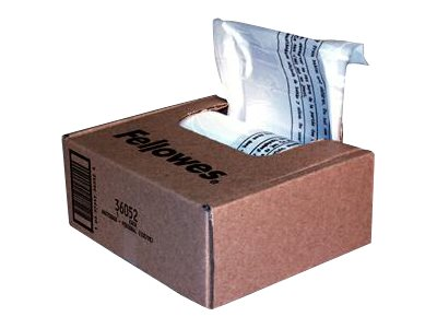 Fellowes Powershred Shredder Bags Pack 100