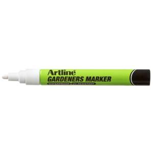 Artline Gardeners Marker 2.3mm White