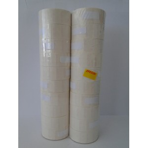 22X12mm Yellow Special Removable Adhesive