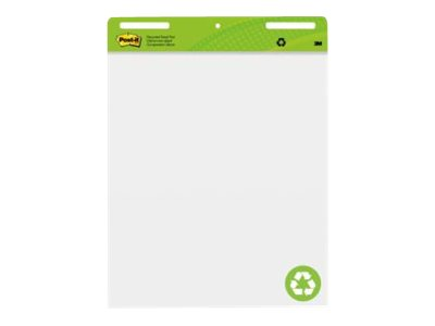 Post-It Recycled Easel Pad 635Mmx762Mm Pack 2