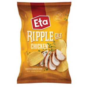 Eta Ripple Cut Chicken 150g