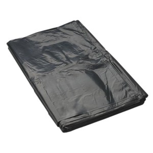 Rubbish Bag LDPE 60 Litre Black 900mm x 630mm 33 micron Pack of 50