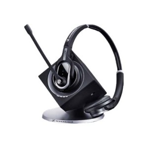 Sennheiser Dw Pro 2 MS Binaural Wireless Dect Office Headset With Base Station - Skype For Business