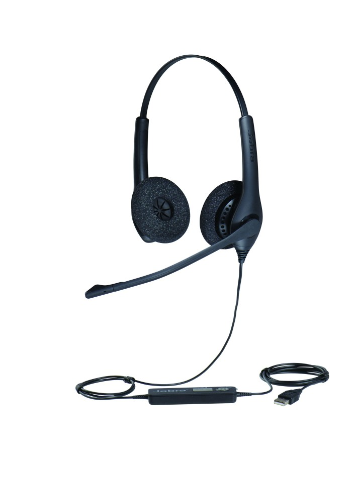 Jabra Biz 1500 Duo Qd Headset