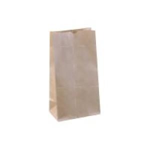 Detpak #6 SOS Paper Bag 273x147x92mm Brown Carton 2000 Image