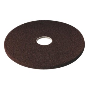 3M 7100 Stripper Floor Pad Brown 406mm 61500044567
