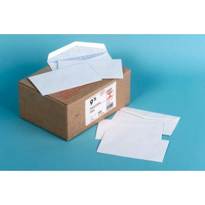 Candida Banker Envelope Tropical Seal 1122 9S 92mm x 165mm White Box of 500