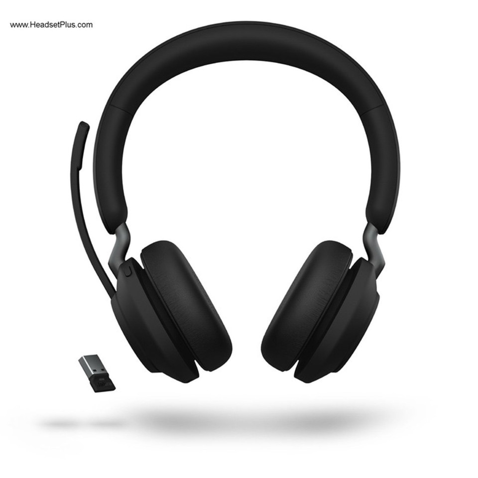 Jabra Evolve2 65 Uc Stereo Bluetooth Wireless Headset