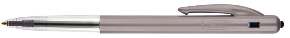 BIC Clic Medium Ballpoint Pen Retractable 1.0mm Black Box 10