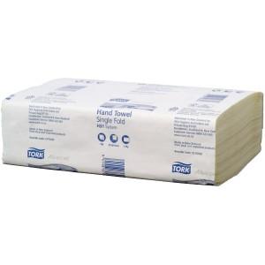 Tork H31 Advanced Singlefold Hand Towel 1 Ply White 150 Sheets per Pack 2170360 Carton of 24