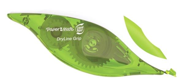 Papermate Liquid Paper Dryline Grip Correction Tape 5mm x 8.5m