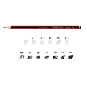 Staedtler 110 Tradition Pencil HB Box 12