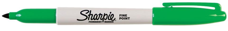 Sharpie Permanent Marker Fine 1.0mm Green