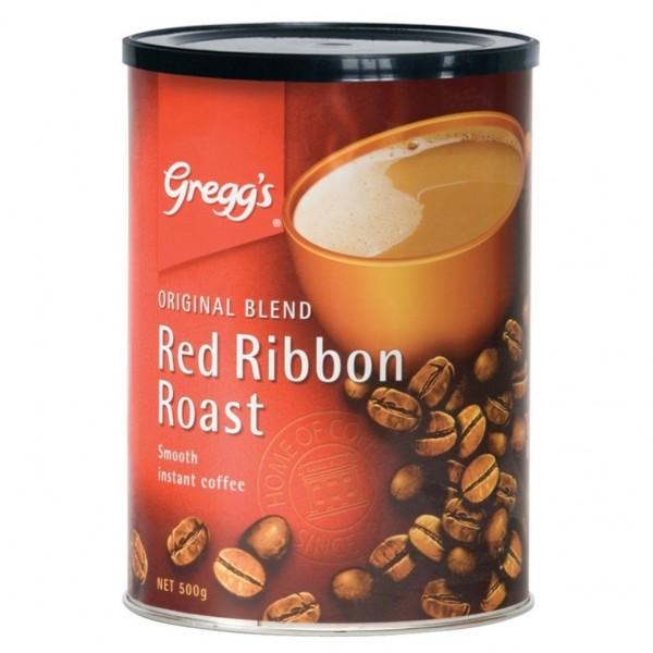 Greggs Red Ribbon Roast Instant Coffee Tin 500g