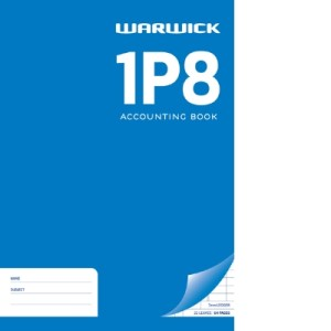 1P8 Ledger A4 32Lf Bookkeeping
