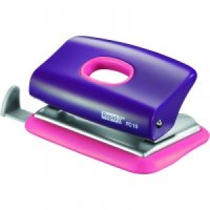 2 Hole Punch Rapid Fc10 Funky Dual Colour Purple/Pink 10 Sheet Image