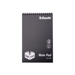 Spirax P563 Cover Notebook Polypropylene 200X127mm 100 Pages