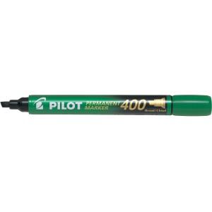 Pilot Permanent Marker Chisel Tip Green