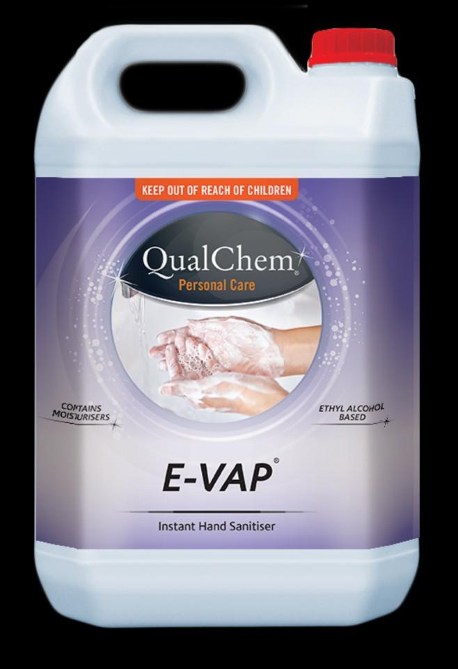 Qualchem E-vap Premium NZ Made 5l Sanitiser