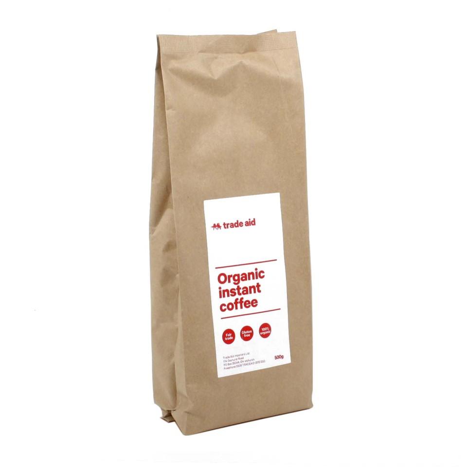 Trade Aid Organic Instant Coffee Powder 500g