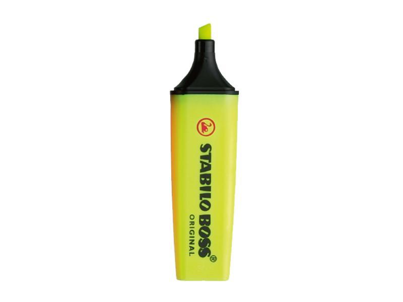 Stabilo Boss Highlighter Chisel Tip 2.0-5.0mm Yellow