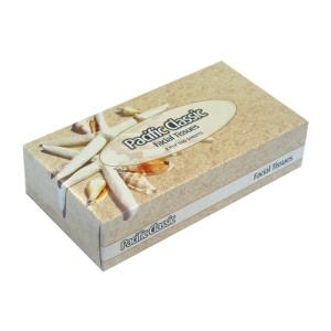 Pacific Classic Facial Tissues 2 Ply White 100 Sheets per Box CF100