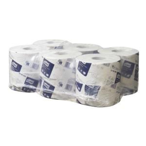 Tork Advanced Soft Mini Jumbo Toilet Roll 2 Ply White 200 meters per Roll 2306898 Carton of 12