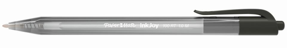 Paper Mate Inkjoy 100 Ballpoint Pen 1.0mm Black Box 12