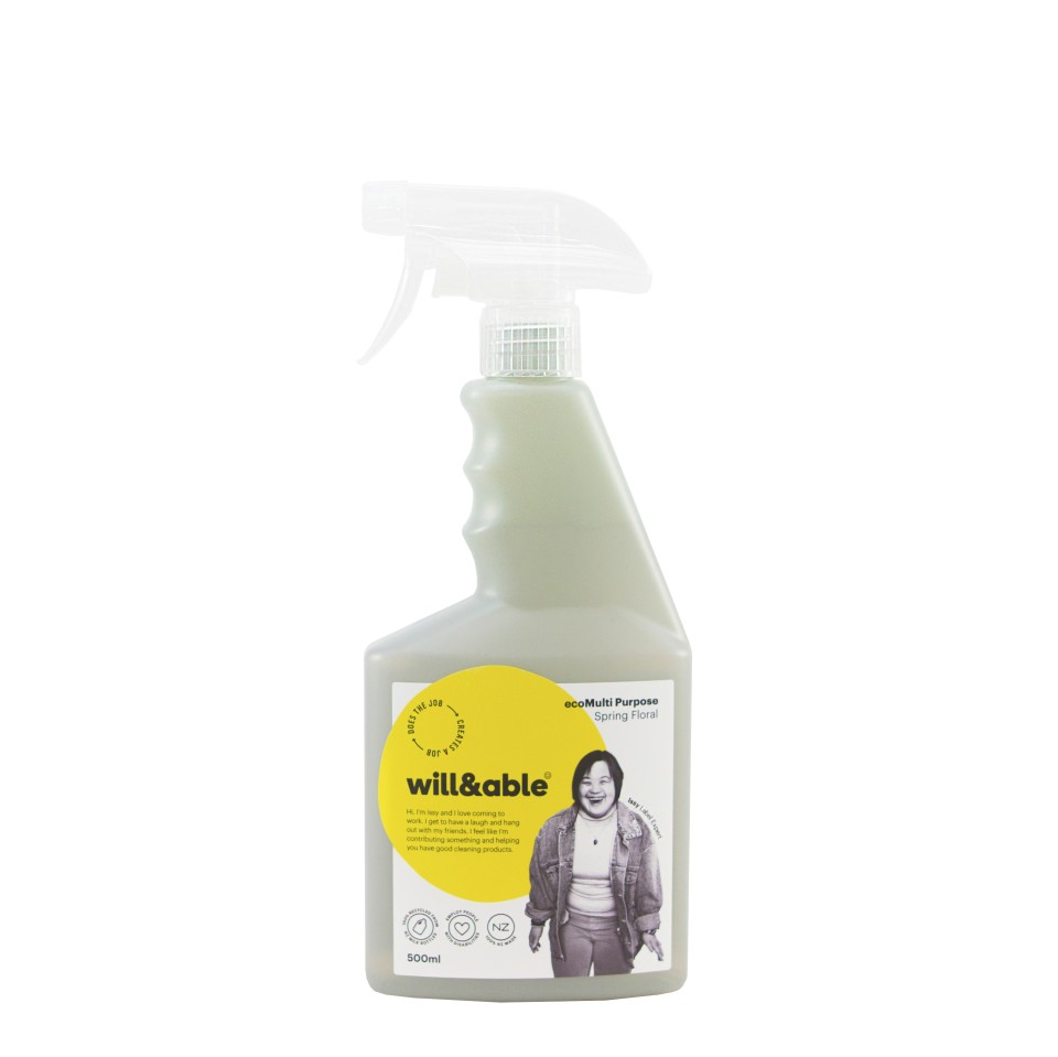 will&able ecoMulti Purpose Spray Cleaner - 500ml