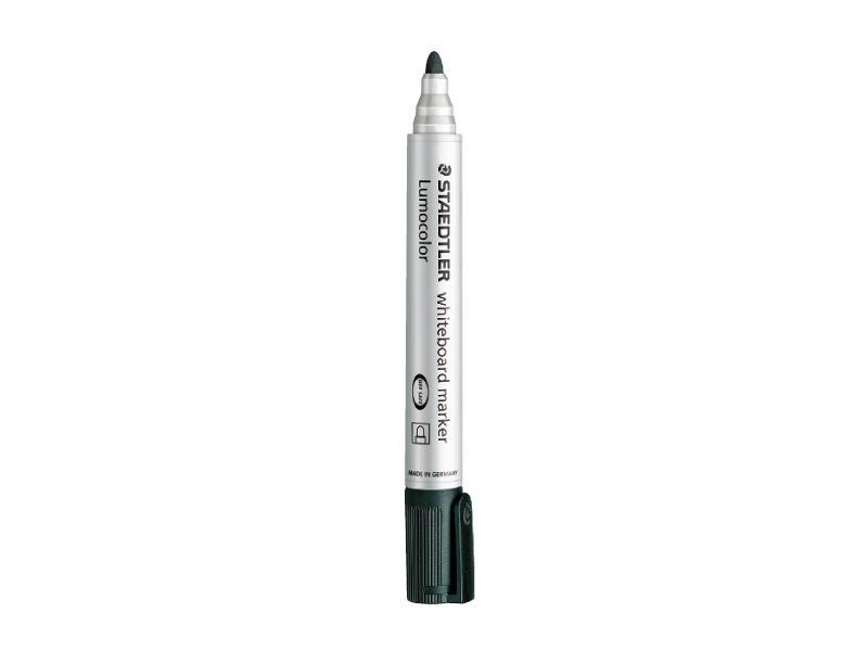 Staedtler 351 Lumocolor Whiteboard Marker Bullet Tip 2.0mm Black