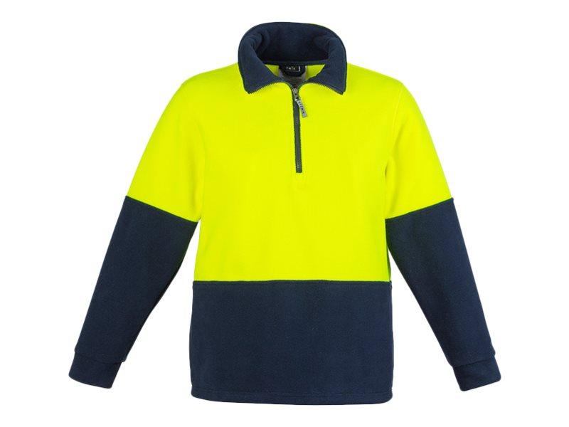 Fashion Biz Unisex Day Only Fleece Jumper Yellow Xlarge