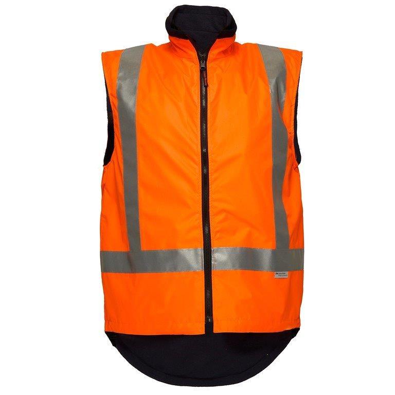 Prime Tt714 Ttmc Waterproof Reversible Fleece Orange