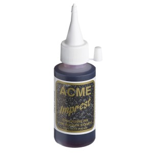 Acme Imprest Endorsing Ink 50mL 7011 Red